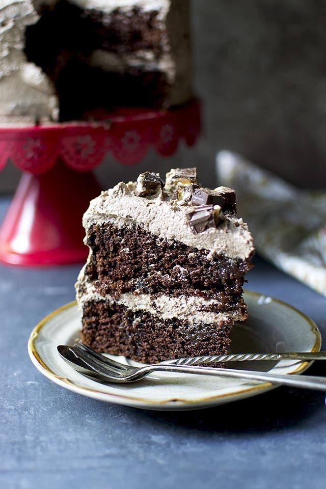 Candy Bar Cake Recipe | HeyFood — heyfoodapp.com