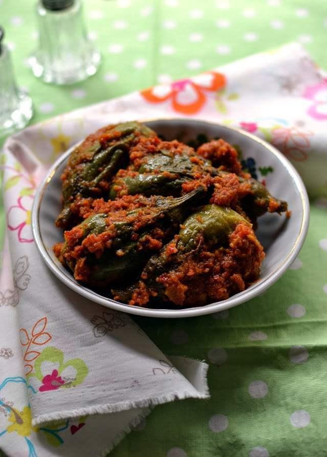 Spicy Eggplant Curry (Vankaya Masala kura) Recipe | HeyFood — heyfoodapp.com