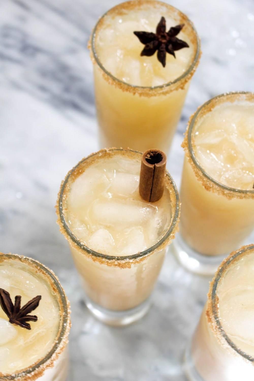 Spiked Caramel Apple Cider Cocktail Recipe | HeyFood — heyfoodapp.com
