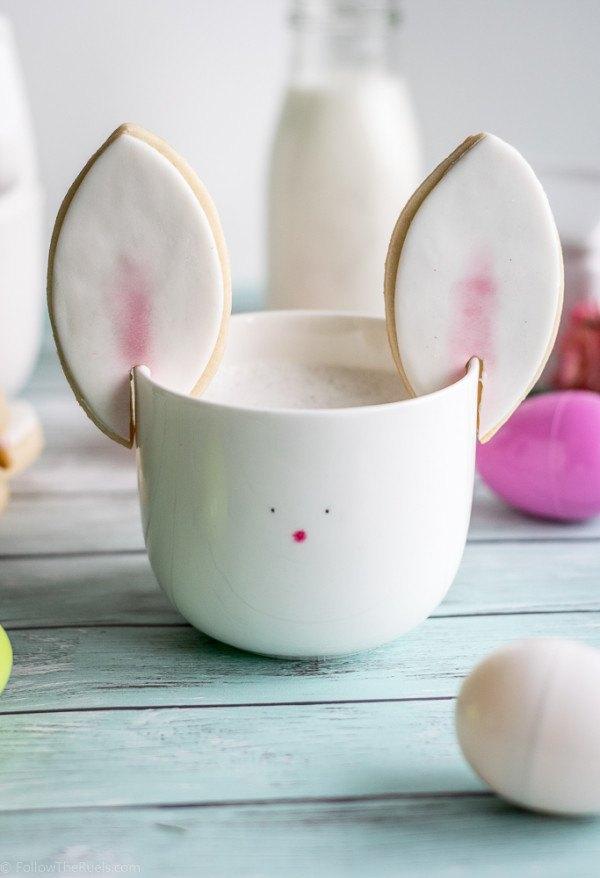 Easter Bunny Ear Cookies Recipe | HeyFood — heyfoodapp.com