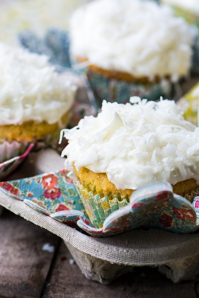 Ina Garten's Coconut Cupcakes Recipe | HeyFood — heyfoodapp.com