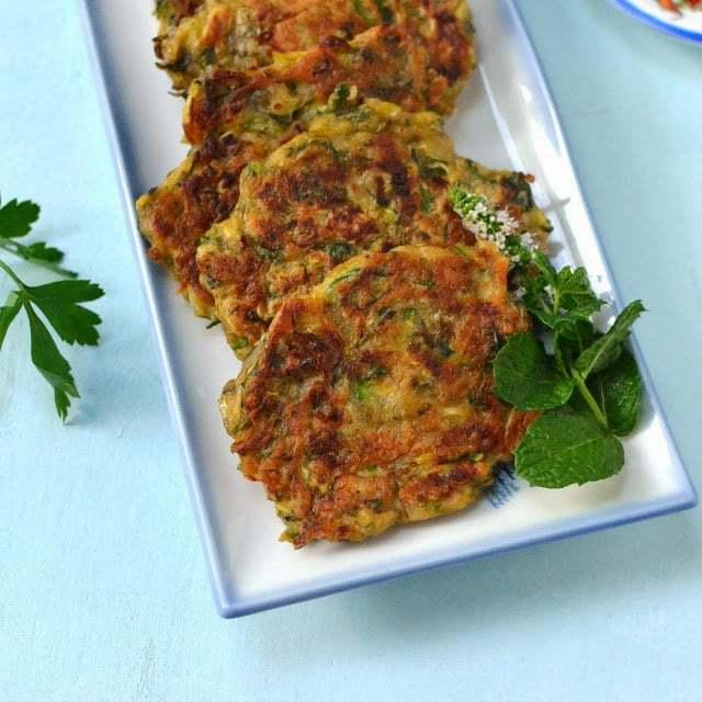 Mücver -- Turkish Zucchini Fritters Recipe | HeyFood — heyfoodapp.com