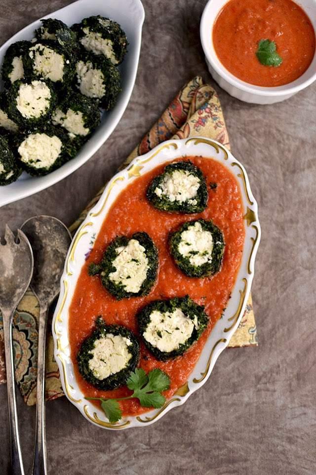 Shaam Savera (Spinach-Paneer balls in Tomato sauce) Recipe | HeyFood — heyfoodapp.com
