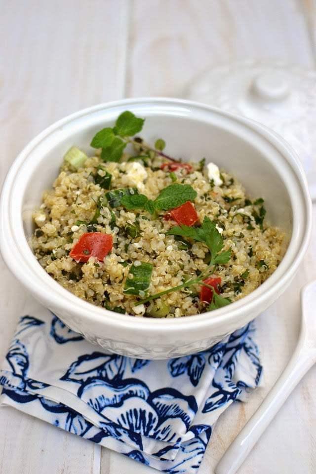 Quinoa Tabbouleh Recipe | HeyFood — heyfoodapp.com