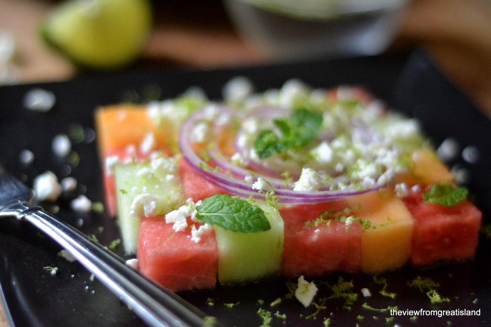 Summer Melon Salad Recipe | HeyFood — heyfoodapp.com