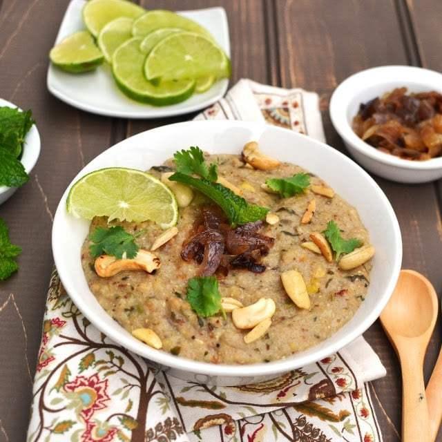 Vegetarian Haleem Recipe   HeyFood — heyfoodapp.com