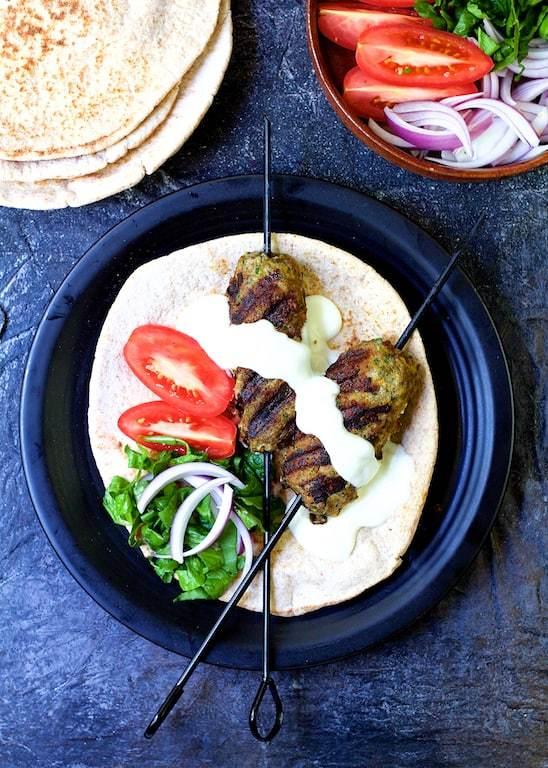 Grilled Turkish Ground Lamb Kebabs Recipe   HeyFood — heyfoodapp.com
