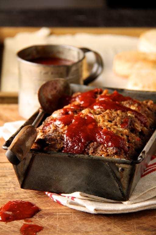 Chili Glazed Meat Loaf Recipe | HeyFood — heyfoodapp.com