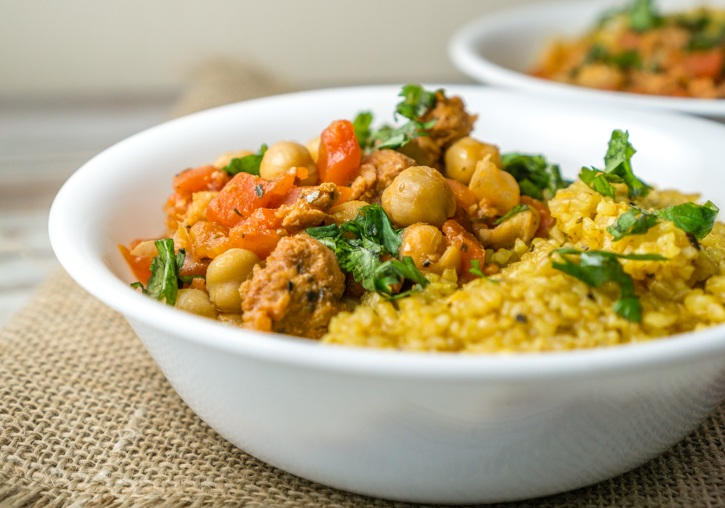 25 Minute Chickpeas with Chorizo Recipe | HeyFood — heyfoodapp.com