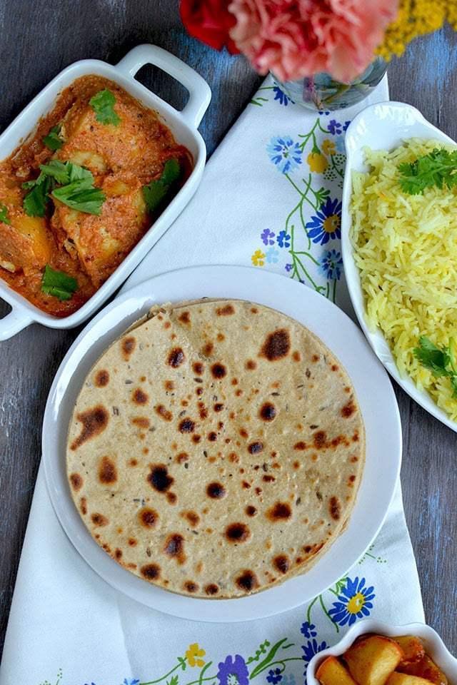Kashmiri Roti Recipe | HeyFood — heyfoodapp.com