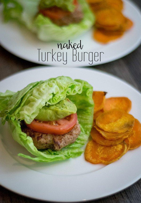 Naked Turkey Burger Recipe   HeyFood — heyfoodapp.com