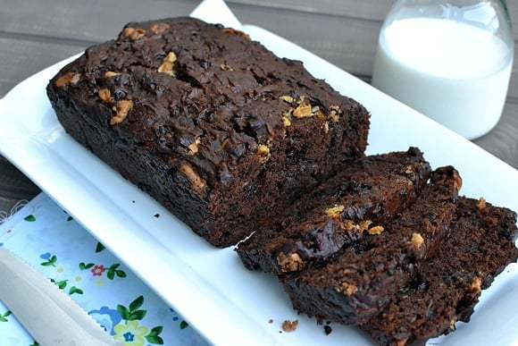 Double Chocolate Zucchini Bread Recipe | HeyFood — heyfoodapp.com