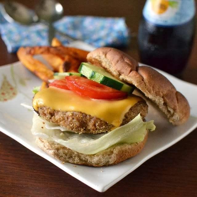 Adzuki Beans & Brown Rice Burger Recipe   HeyFood — heyfoodapp.com