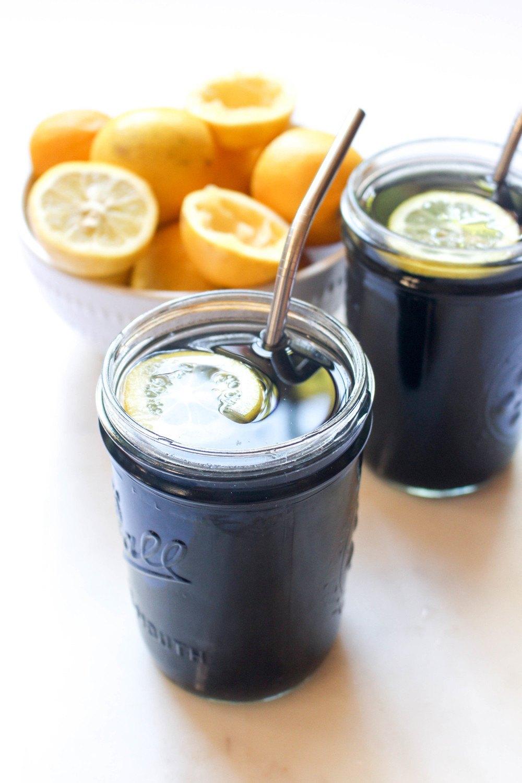 Charcoal Black Lemonade Recipe | HeyFood — heyfoodapp.com