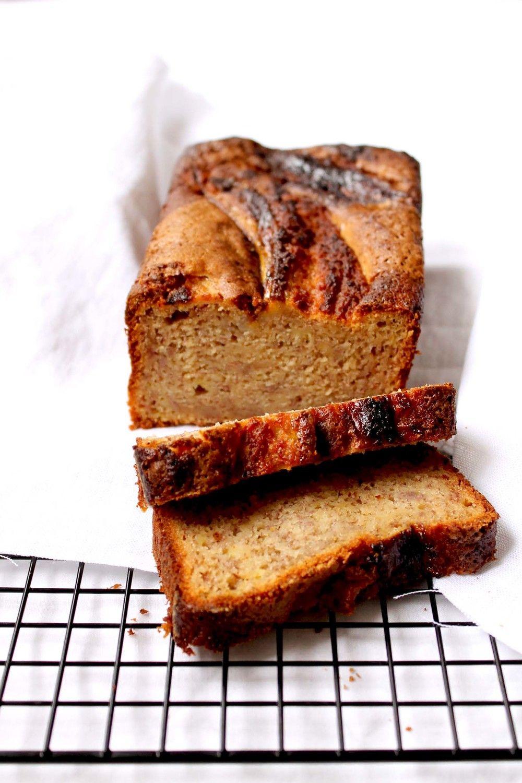 Banana Bread (V, VE/GF options) Recipe | HeyFood — heyfoodapp.com