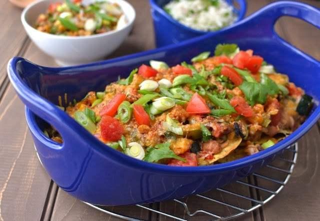 Veggie Nachos Recipe   HeyFood — heyfoodapp.com