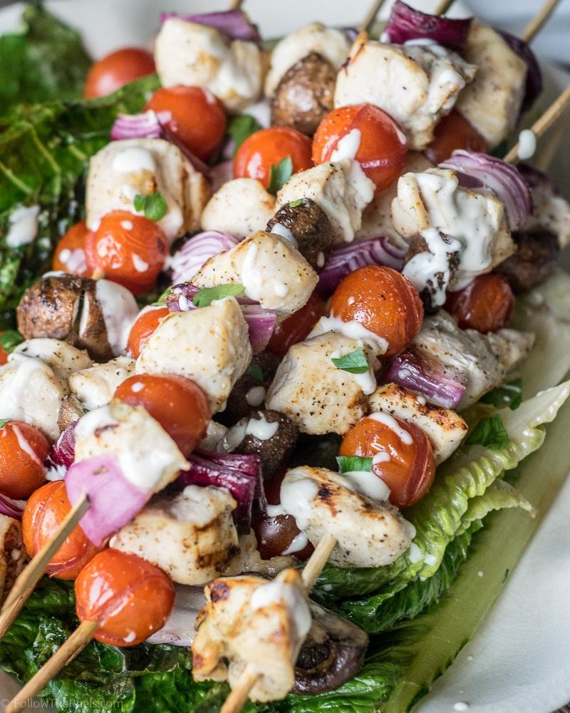 Ranch Chicken Skewers Recipe | HeyFood — heyfoodapp.com