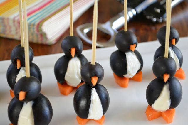 Olive Cocktail Penguin Recipe | HeyFood — heyfoodapp.com