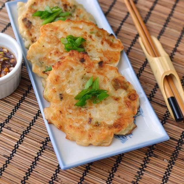 Kimchi Pancakes (Kimchijeon) Recipe | HeyFood — heyfoodapp.com