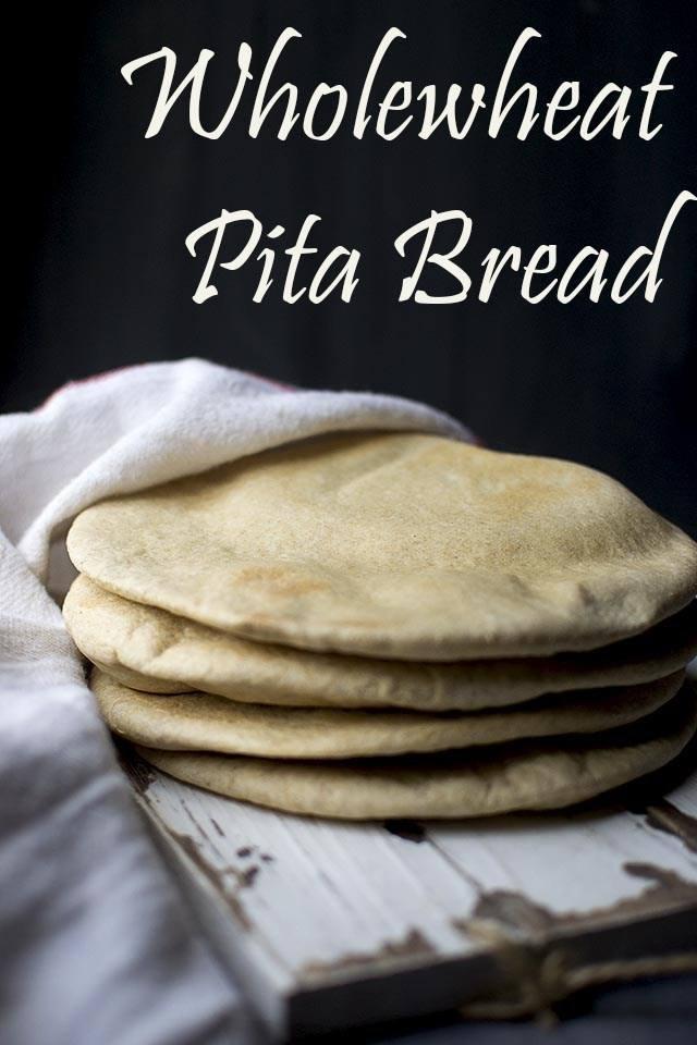 Wholewheat Pita Bread Recipe   HeyFood — heyfoodapp.com