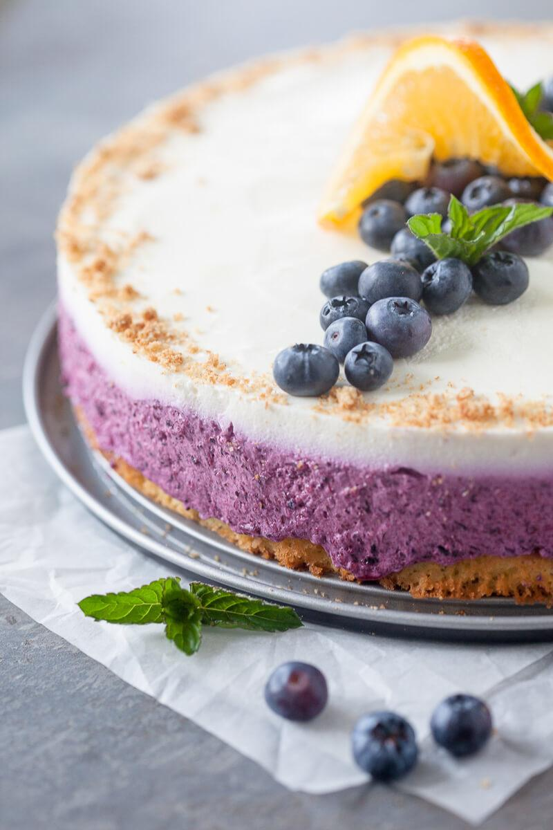 Blueberry Cake with Quark Cream Recipe | HeyFood — heyfoodapp.com