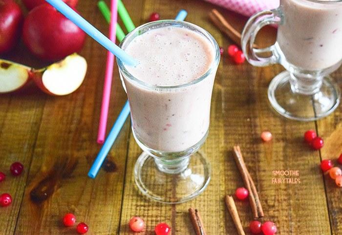 Cranberry Apple Smoothie Recipe | HeyFood — heyfoodapp.com