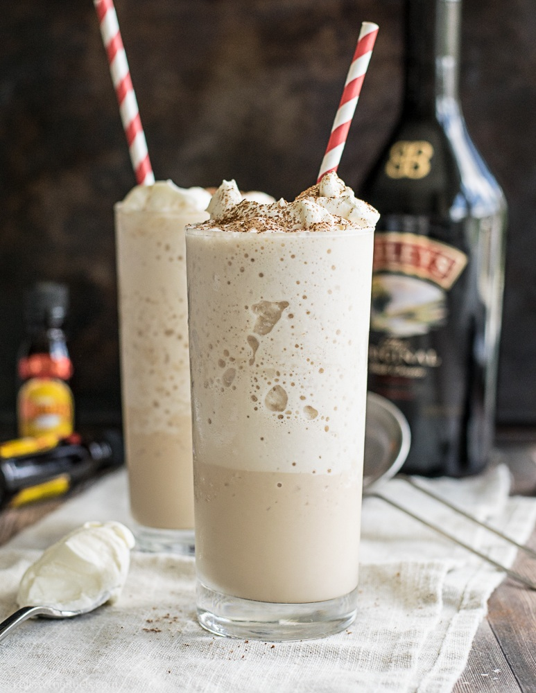 Boozy Frozen Latte Recipe | HeyFood — heyfoodapp.com