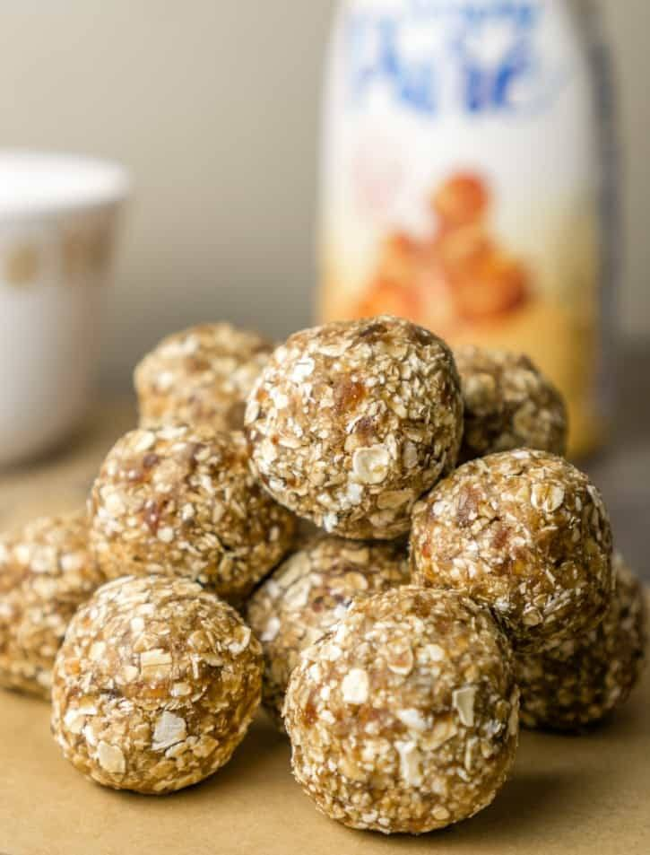 3-Ingredient Breakfast Caramel Energy Bites Recipe | HeyFood — heyfoodapp.com