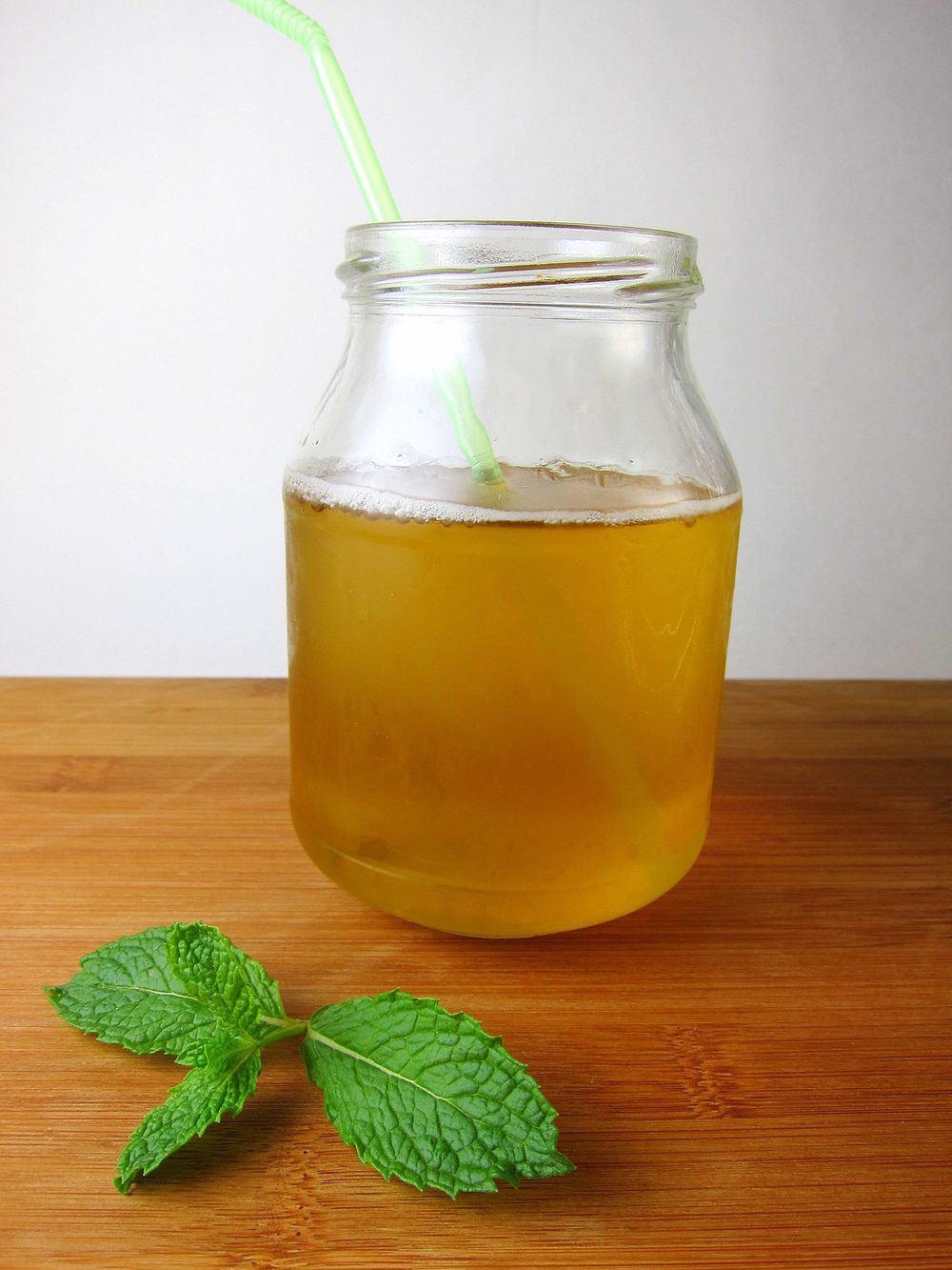 Minty Green Iced Tea Recipe | HeyFood — heyfoodapp.com