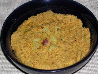 Kandhi Pachadi (Toor dal Chutney) Recipe | HeyFood — heyfoodapp.com