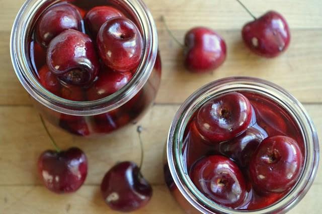 DIY Cocktail Cherries Recipe   HeyFood — heyfoodapp.com
