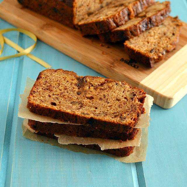 Whole Wheat Banana & Walnut Bread Recipe | HeyFood — heyfoodapp.com