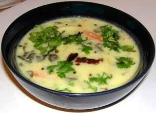Majjiga Pulusu with Greens Recipe | HeyFood — heyfoodapp.com