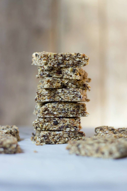 Oat, Coconut & Walnut Bars Recipe | HeyFood — heyfoodapp.com