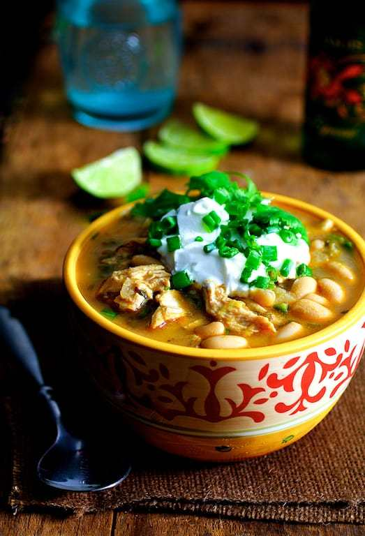 Chipotle Chicken and White Bean Chili Recipe | HeyFood — heyfoodapp.com
