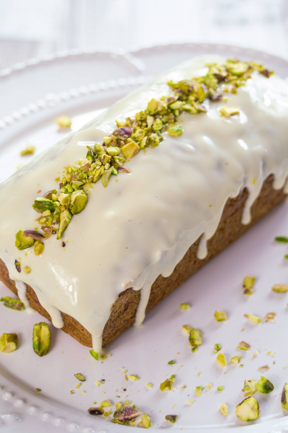 Courgette and Lemon Loaf Cake with Maple Icing Recipe | HeyFood — heyfoodapp.com