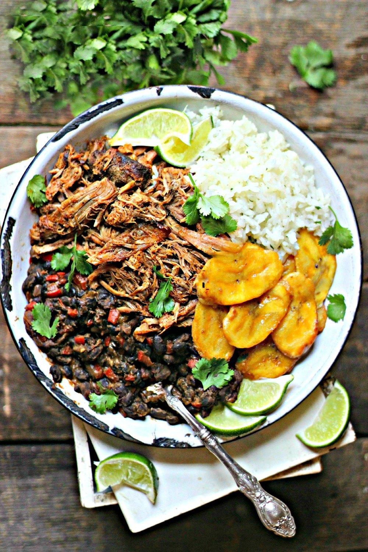 Cuban Pork & Black Bean Rice Bowls Recipe | HeyFood — heyfoodapp.com