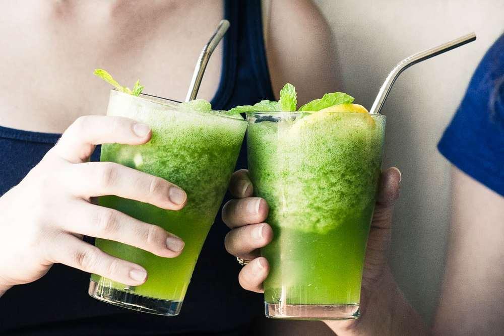 Frozen Mint Lemonade (Lemonana) Recipe | HeyFood — heyfoodapp.com