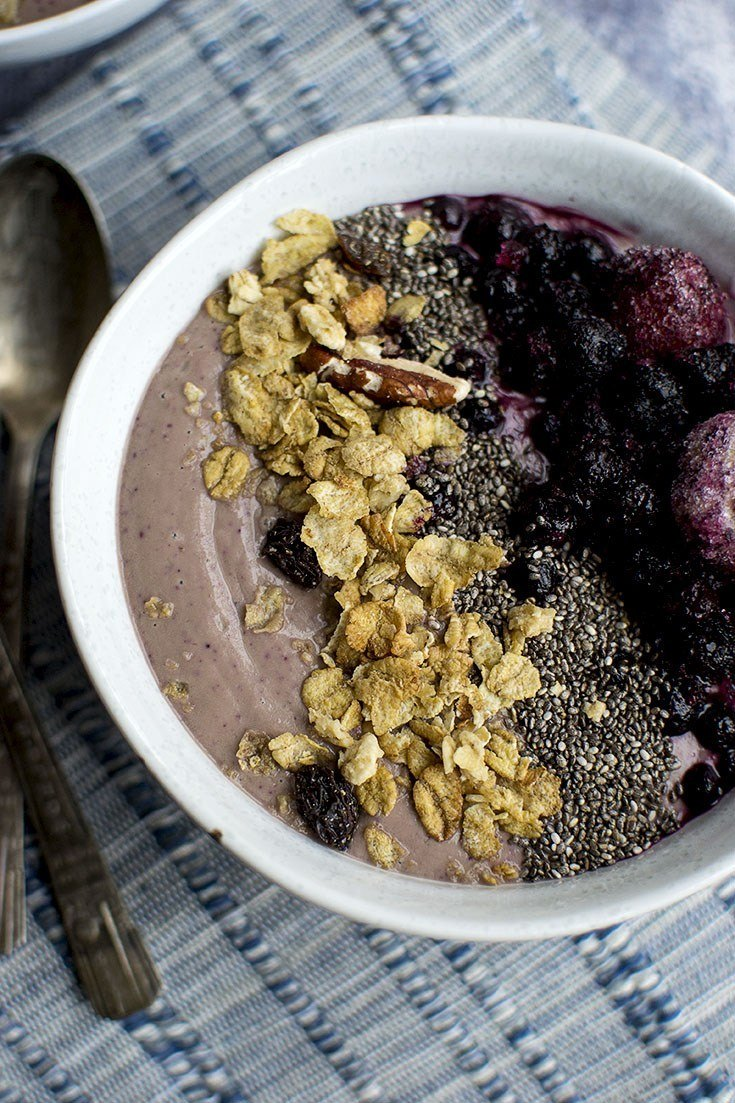 Cherry Berry Smoothie Bowl Recipe | HeyFood — heyfoodapp.com