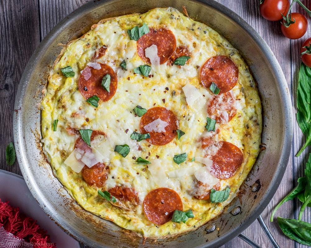 Frittata Pizza Recipe | HeyFood — heyfoodapp.com