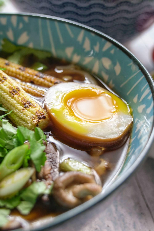 Soy Marinated Soft Boiled Eggs (Ajitsuke Tamago) Recipe | HeyFood — heyfoodapp.com