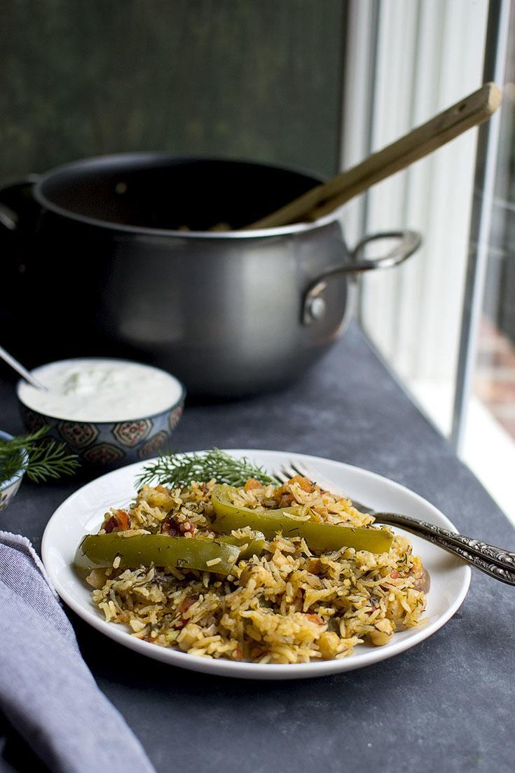 Dill Tomato Rice Recipe | HeyFood — heyfoodapp.com