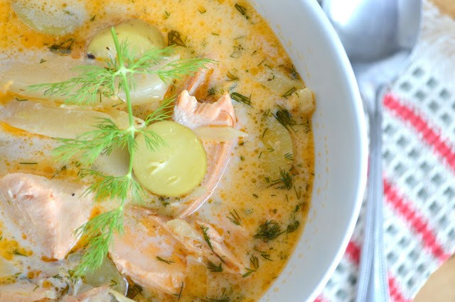 Springtime Salmon and Fennel Chowder Recipe | HeyFood — heyfoodapp.com
