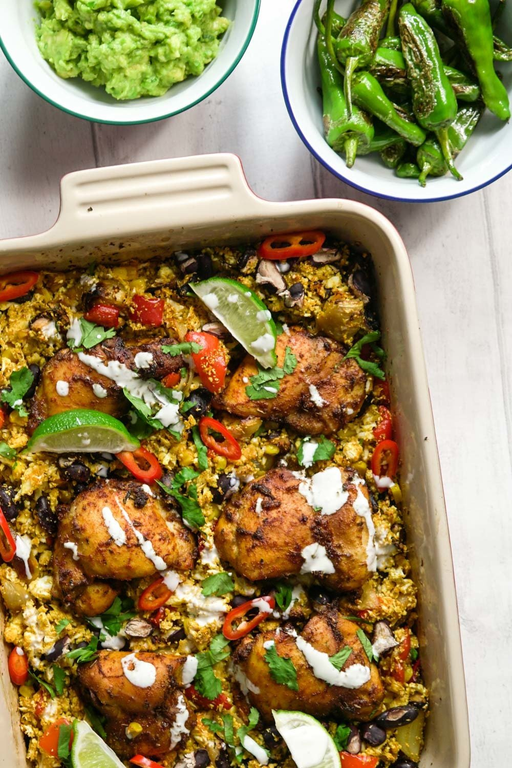 Mexican Chicken and Cauliflower Rice Recipe | HeyFood — heyfoodapp.com