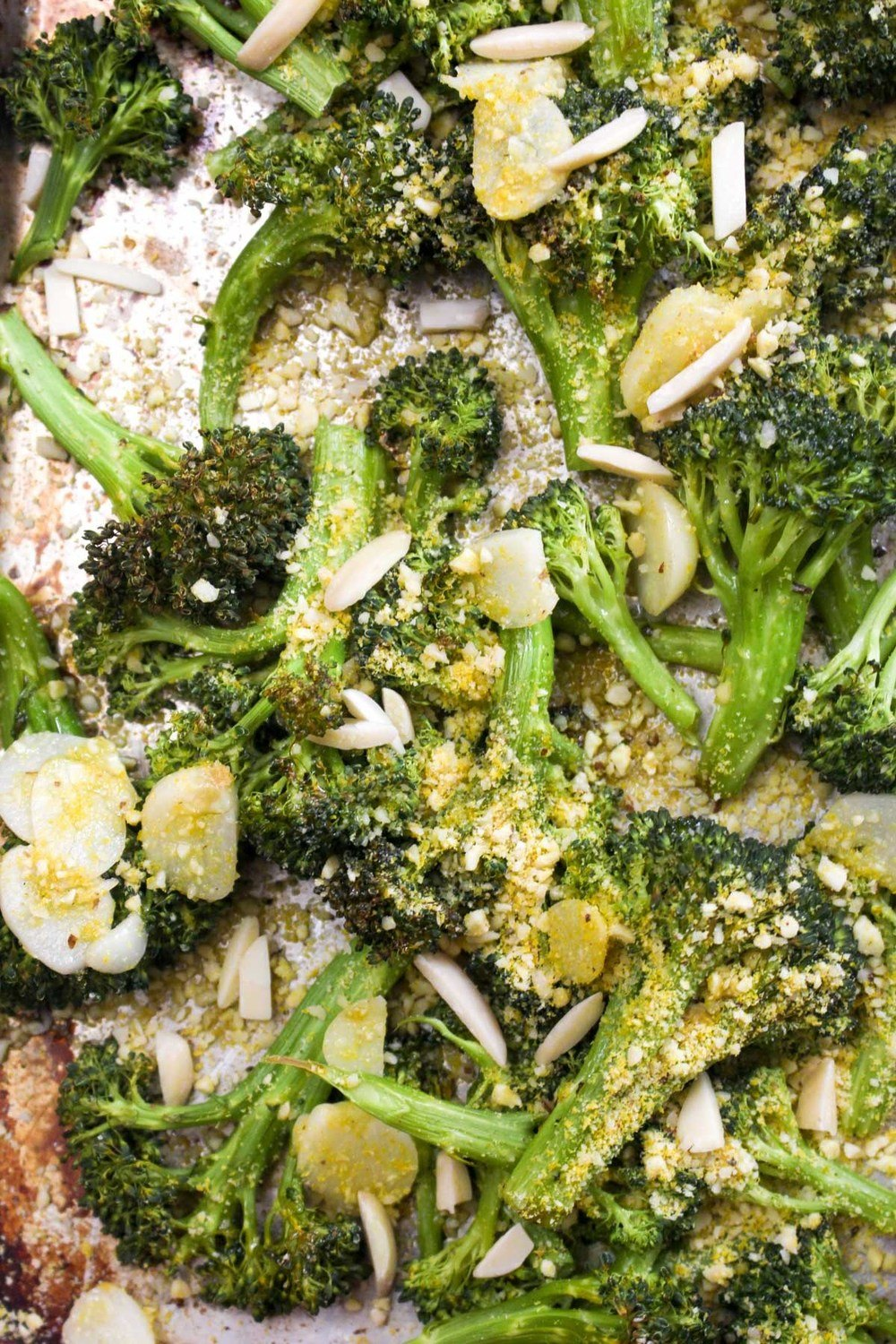 Parmesan Garlic Roasted Broccoli Recipe | HeyFood — heyfoodapp.com