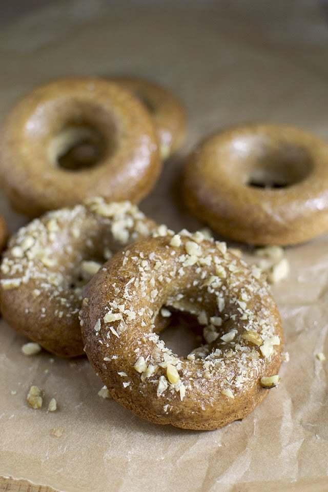 Baked Maple Donuts Recipe | HeyFood — heyfoodapp.com