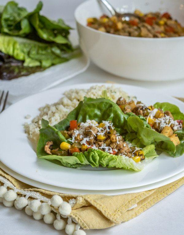 Mexican Turkey Lettuce Wraps Recipe | HeyFood — heyfoodapp.com