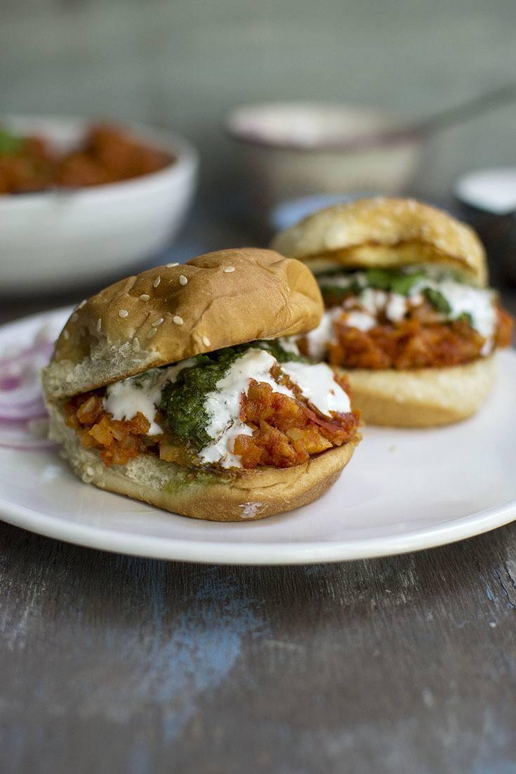 Vegan Indian Style Sloppy Joes Recipe Recipe | HeyFood — heyfoodapp.com