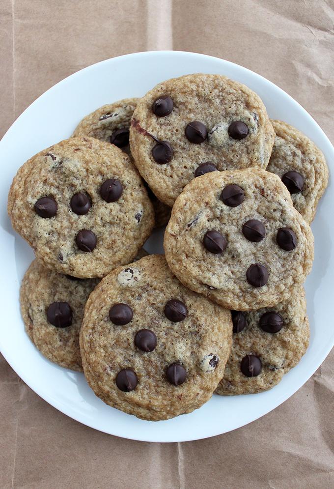 1 Bowl Vegan Chocolate Chip Cookies Recipe   HeyFood — heyfoodapp.com