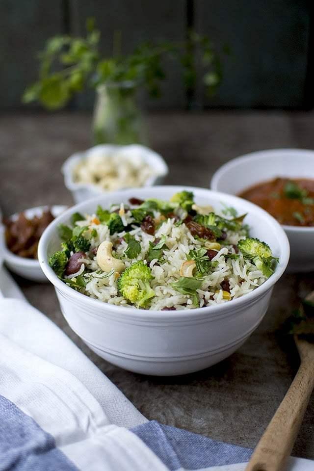 Jaipuri Vegetable Pulao Recipe   HeyFood — heyfoodapp.com